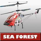 3 Channel Remote Control Mini Helicopter SF8827