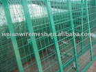 Green Power Coated Wire Mesh Fence (Best Sell)