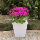 (FO-9519)Plastic LED Flower Pot With Colorful Light