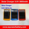Lipo Battery Portable Solar Charger for Blackberry