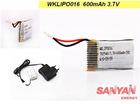 LIPO battery 600mah 3.7V for walkera