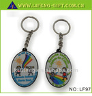 PVC key ring