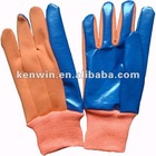 women's water resistant PU or Nitrile coating polyester garden gloves