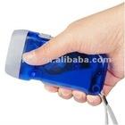 No Battery Hand Pressing 2 LED Flashlights