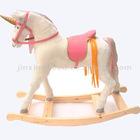 rocking horse/plush rocking horse/wooden toys/