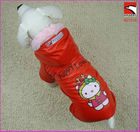 winter pet dog apparel / overalls clothes / clothing / coat