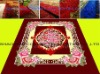 printed carpet flower design made in china