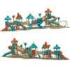 outdoor playground equipment-combined slide