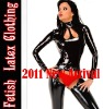 100% handmade natural latex catsuit, glamour catsuit