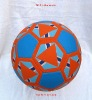 rubber football/soccer ball ,size :5