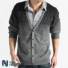 2012 new fashion design knit sweaters unique cardigan sweater man sweater men BZZ04