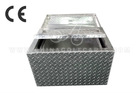 Aluminium ice cooler box with wall insulation and diamond pattern used in Picnic,camping,party & Club
