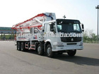 42m Truck-mounted concrete pump (2)