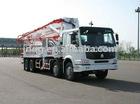 42m Truck-mounted concrete pump (2)