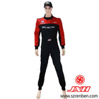 2012 latest 2 layer one piece customized racing suits L size for men