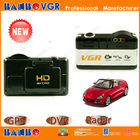 Hot!! New Arrival initiative factory hd car dvr with radar, G-sensor