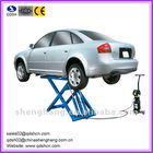 Movable scissor hydraulic cheap car lifts garage equipment 2000kgs 1000mm QDSH-S2010