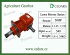 Agriculture Gearbox,