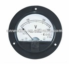 62T2 Round Panel Voltmeter