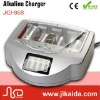 Rechargeable alkaline 9V battery charger