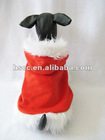 European Style Red Plush Christmas dog Hoodies