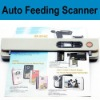 portable auto feeding document scanner