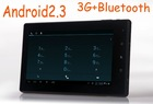 "7"" Android 2.3 Tablet PC 512MB 4GB 8GB 3G + BluetoothCapacitive Screen"