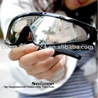 5 M Pixels Hidden Sunglasses with Undetectable Video Lens