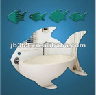 Fish Looklike Indoor Decorative Acrylic Mirror