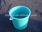 high quality food grade plastic buckets with handle