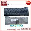 Hot Sale Laptop Keyboard for NX7400 US Version Black Notebook Keyboard Whoelsale
