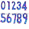 PVC numbers,inflatable numbers.