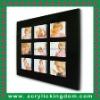 Clear Magnetic Staff Photo Board