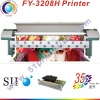 large format solvent printer BY-3208H with seiko head
