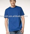 RPET promotion popular men's blue shirt