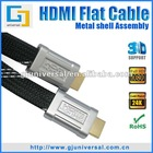 Flat HDMI Cable, HDMI Flat Cable, HDMI Cable Flat, Support 3D 1080P