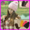 fashion beautiful hand crochet hat RQ-68