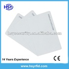 RFID Smart ID Card/Proximity 0.8mm thin RFID Smart Card