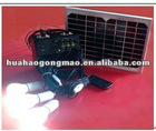 Emergency portable solar mobile phone charger