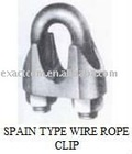 SPAIN TYPE WIRE ROPE CLIPS