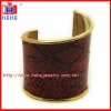 make leather cuff bracelets in yiwu factory