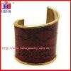 make leather cuff bracelets in yiwu factory