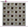 Mix Glass and Stone Mosaic Tile