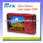 "Hot Sale! Fixed Lens Camera Digital Camera Face Detect with 2.7"" TFT LCD"