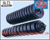 Rubber ring impact idler roller for belt conveyors machinery