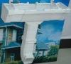 foam PVC rain gutter system