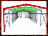 Industrial Steel Shed Shop Drawing
