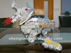 big size electronic RC dinosaur transformable robot