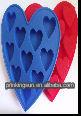 Hotsale Food Grade Unique & Novelty Heart Shape Ice Cube Tray PK-BG007