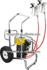 electric sprayer, electric high pressure airless sprayer parallel working with two guns for industry, building